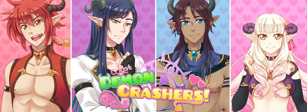 Cute Demon Crashers! The Sex Game About Safe Sex (2/4)