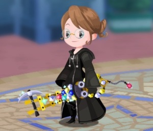Iris the Keyblade Master