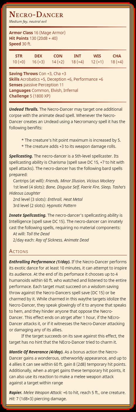 Necro-Dancer